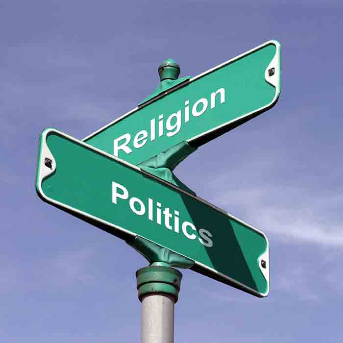 Do politics and religion mix essay