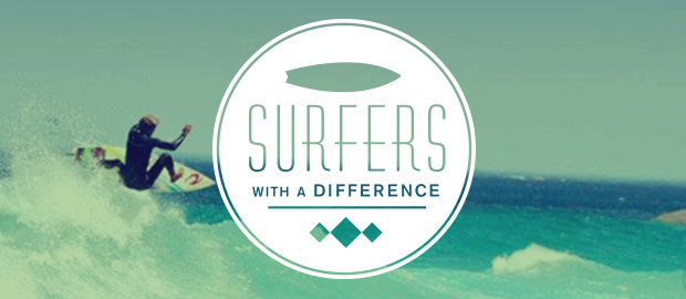 SURFERS WITH A DIFFERENCE