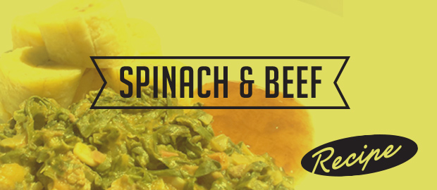 Spinach & Beef Recipe