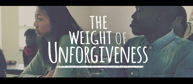 THE WEIGHT OF UNFORGIVENESS