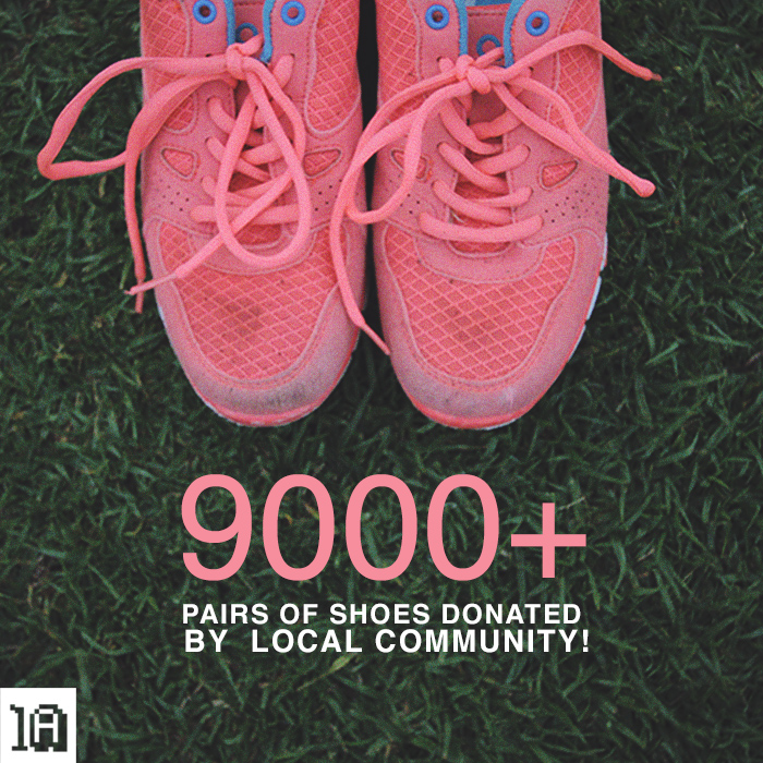One Day Without Shoes – Over 9000 Pairs Donated