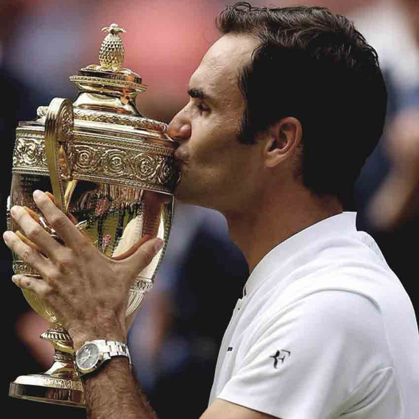 Roger Federer wins 8th Wimbledon – makes history