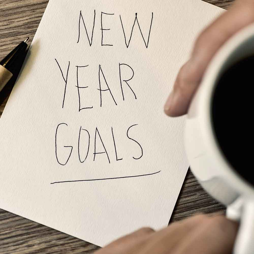 The thing about New Year's resolutions